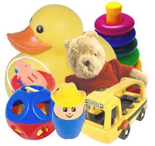 Giochi per bambini da 0 a 36 mesi