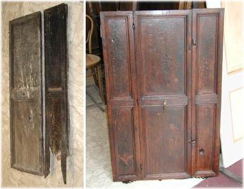 Recuperare porte e portoni vecchi o antichi