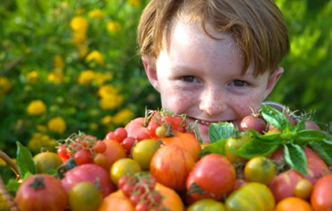 alimentazione e bambini: l'importanza delle verdure