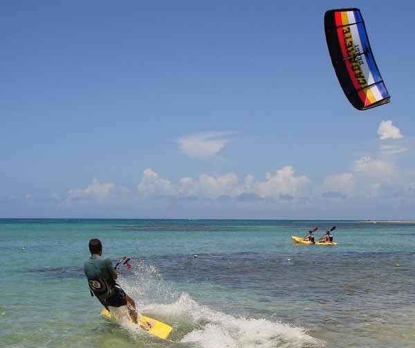 Scegliere l'attrezzatura per il kitesurf