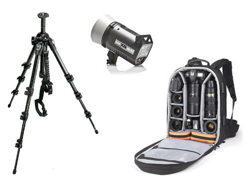 Cavalletti, obiettivi, borse e flash: gli accessori per la fotocamera