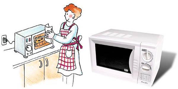 Scegliere il forno microonde - Forno combinato microonde ed elettrico ...
