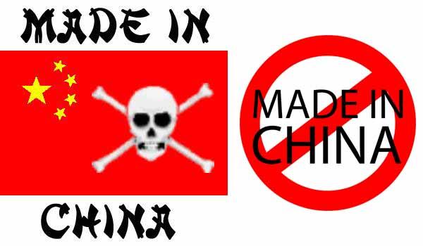 Prodotti cinesi: rischi e pericoli
