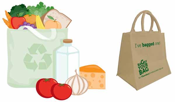 borse riutilizzabili per spesa