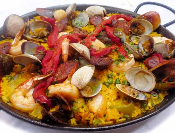 Cucina spagnola di Valencia