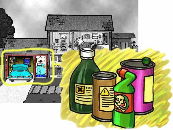 Veleni e sostanze pericolose tra lavanderia e sgabuzzino