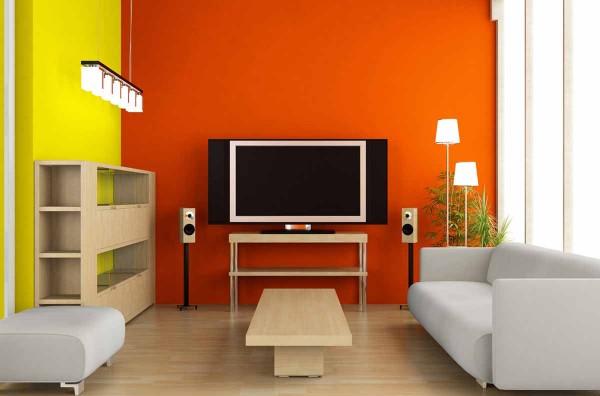 Dipingere casa: scelta dei colori