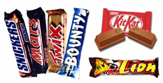 Confronto tra 6 barrette snack al cioccolato