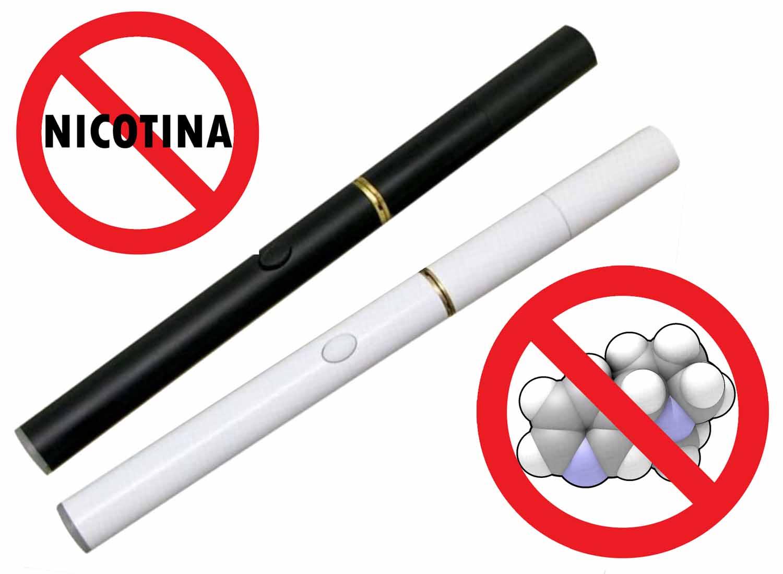 Sigaretta elettronica senza nicotina