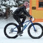 Come andare in bici con la neve