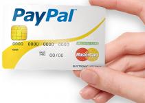 Come richiedere la carta ricaricabile paypal