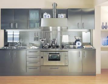 Cucina in acciaio: guida completa
