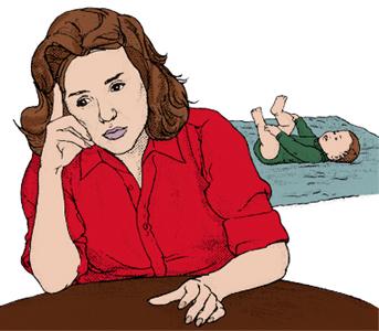 le conseguenze del dopo parto
