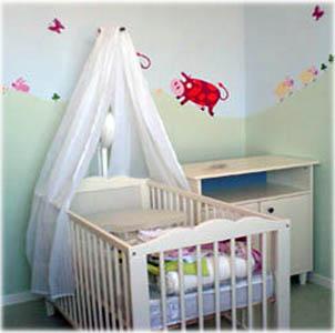 come arredare la stanza per il neonato