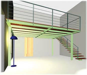 Soppalco guida completa per progettare e costruire - Costruire palestra in casa ...
