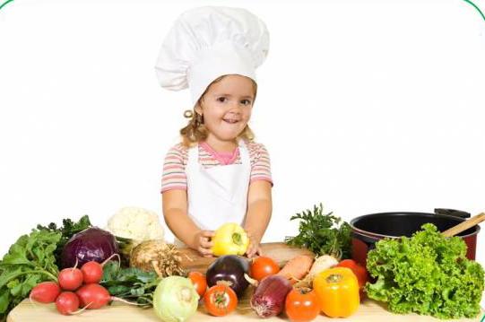 i bambini e la dieta vegetariana