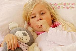 tosse nel bambino
