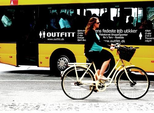 Andare in bicicletta in gravidanza