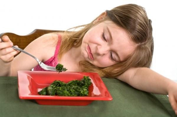 verdure e bambini