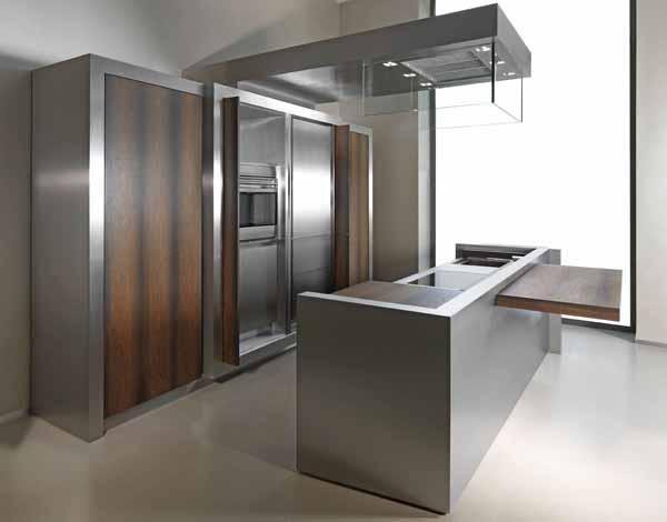Cucina in acciaio guida completa - Cucine in acciaio per casa ...