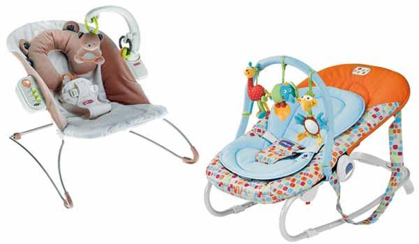sdraietta per il neonato