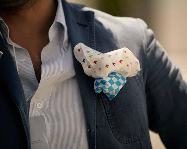 Come scegliere fazzoletto, bretelle o cintura, gemelli, fermacravatta