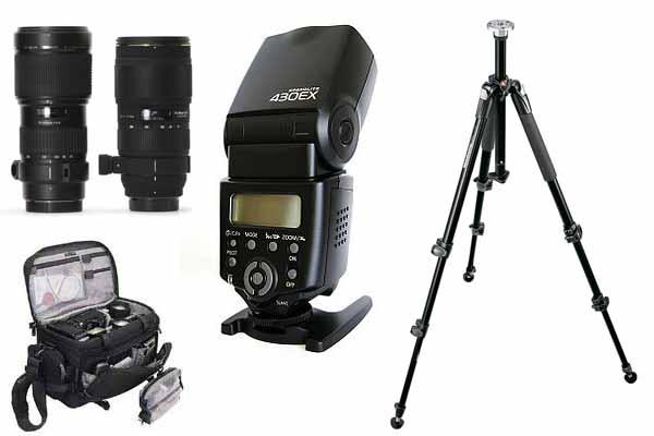 scegliere gli accessori per la macchina fotografica