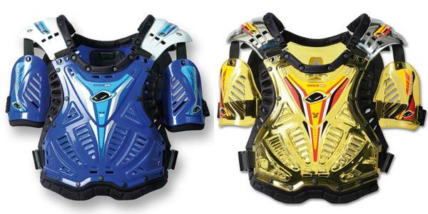 Protezioni rigide per motociclisti