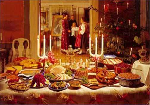 Pranzo e cena di natale - Addobbi di natale per la casa ...