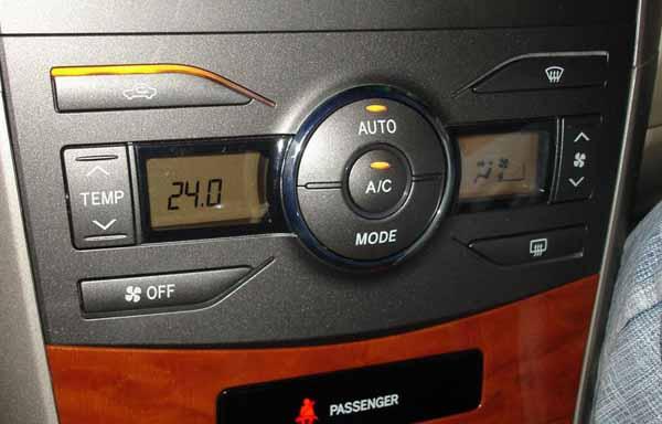 Auto usata: controllo di climatizzatore e impianto elettrico