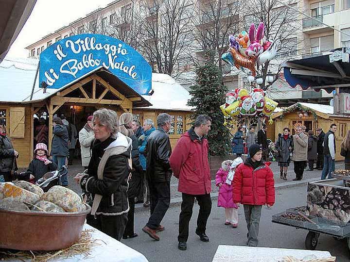 il mercatino di Natale di Rivoli