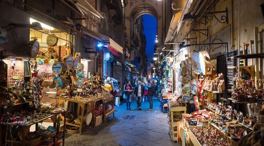 i mercatini di san gregorio armeno a Napoli