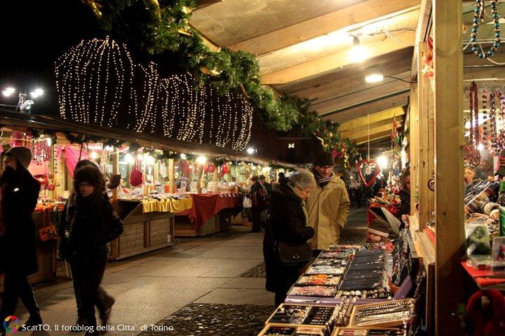 il mercatino di Natale di Bordo Dora a Torino
