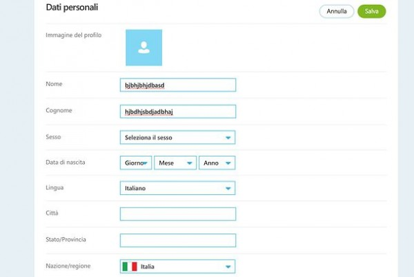 Come eliminare l'account skype
