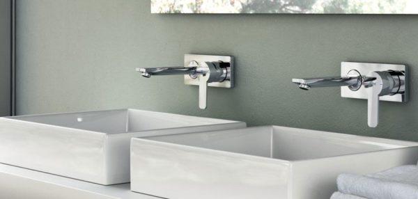 Rubinetteria per lavabo ecco le diverse tipologie in for Rubinetti per lavabo