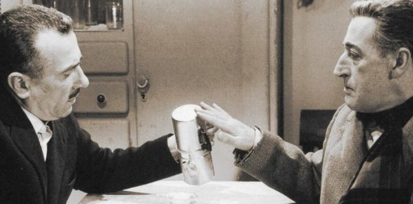caffè con la caffettiera napoletana
