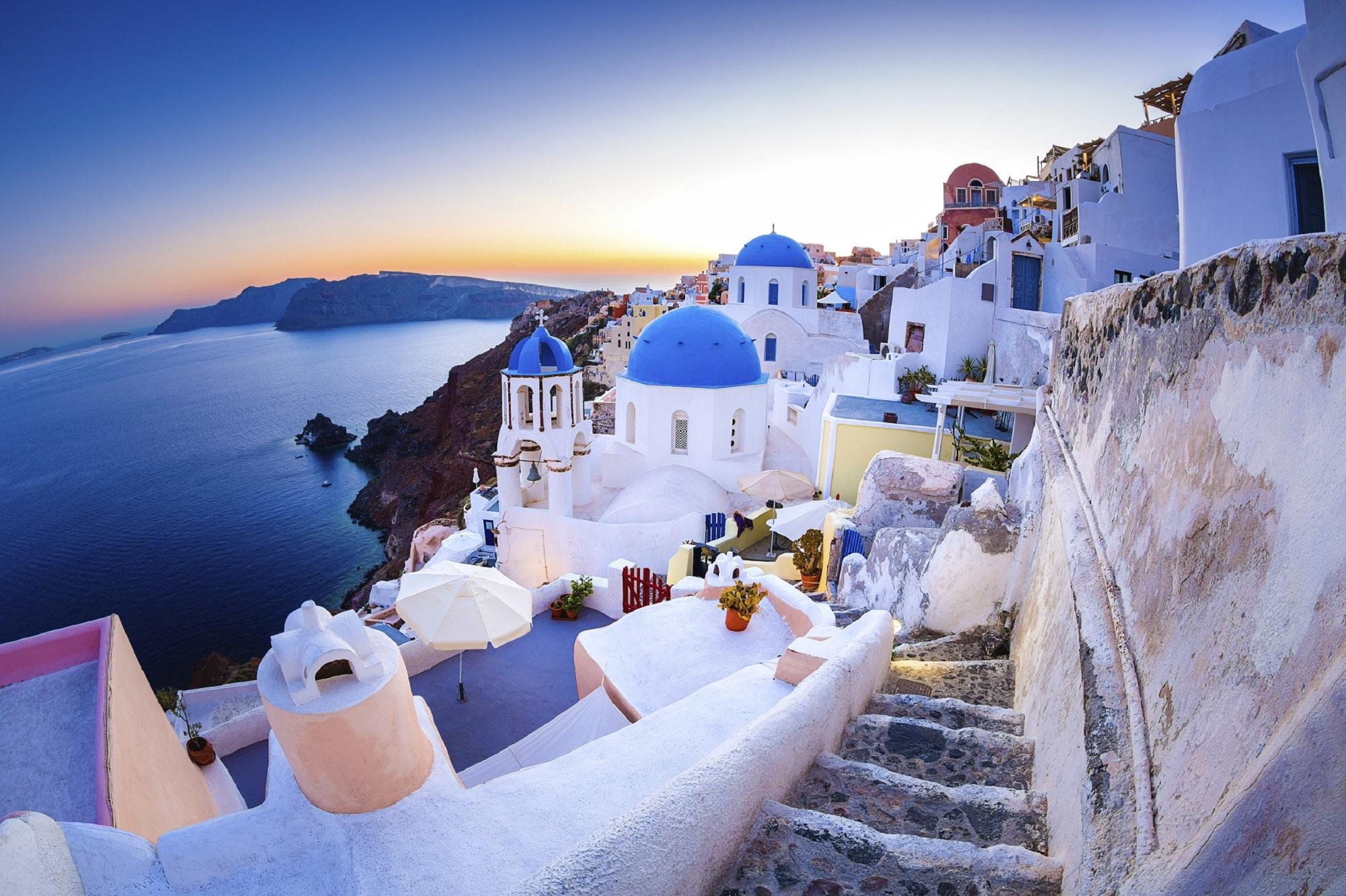 Santorini: storia della regina delle Cicladi