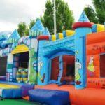 Realizzare un parco giochi gonfiabili per bambini