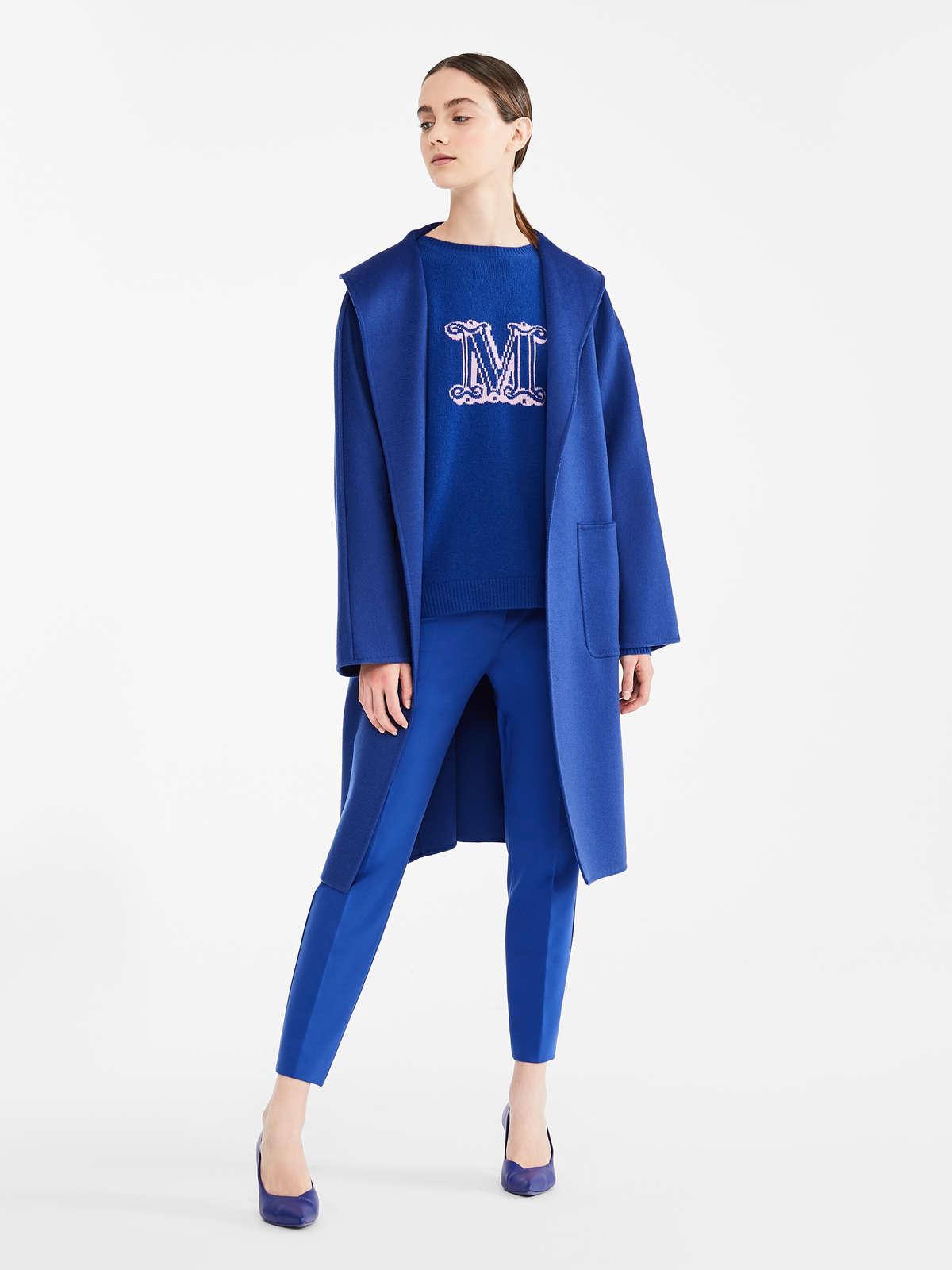 Completo blu Max Mara autunno inverno 2020-2021