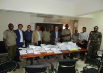 Salvatore Salute alla consegna del progetto della Città ospedaliera in Luanda