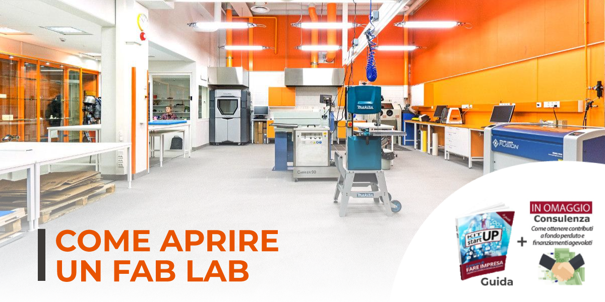 Come aprire un Fab Lab e un laboratorio di grafica 3D