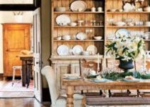 piattaia in legno stile country