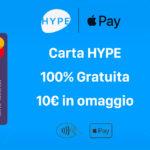 Come ottenere 10€ gratis grazie al codice promo Hype