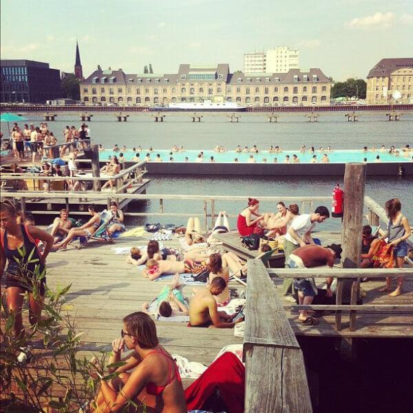Badeschiff Berlino