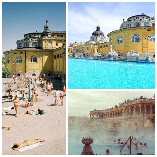Bagni termali Budapest