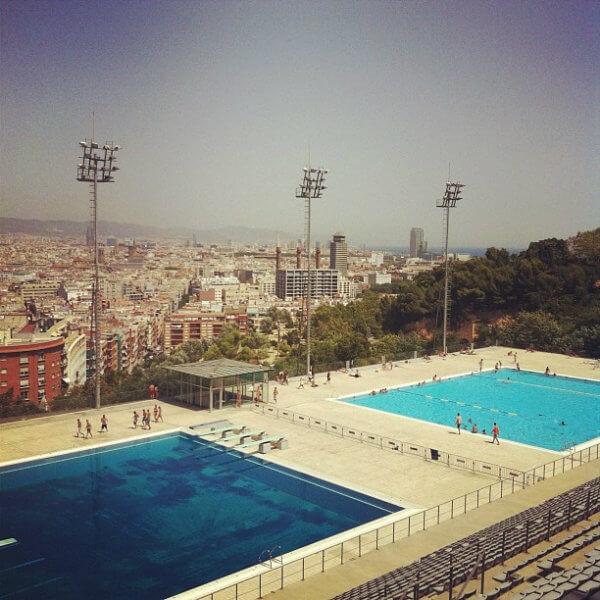 Piscina Olimpionica Barcelona