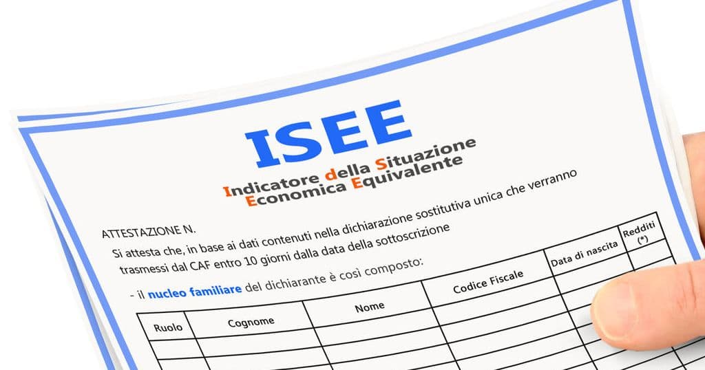 certificato ISEE