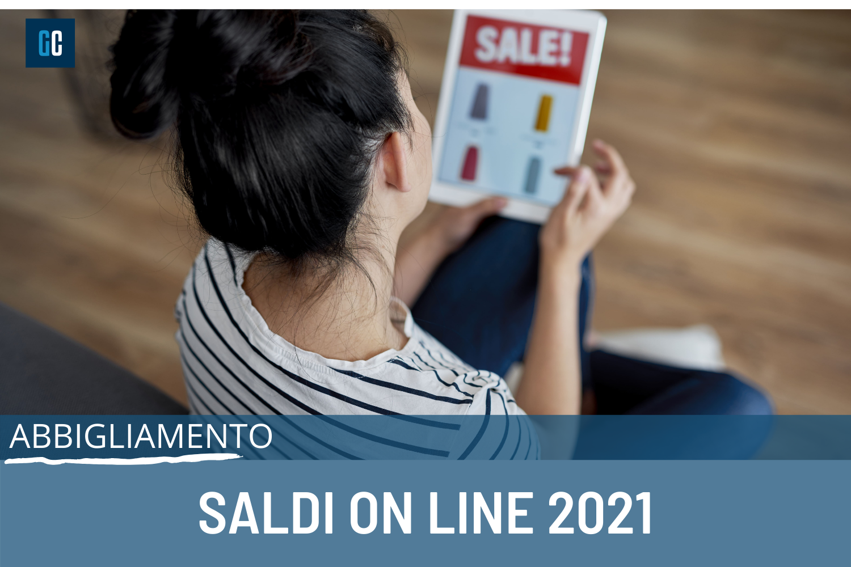 Saldi on line 2021: tutte le occasioni